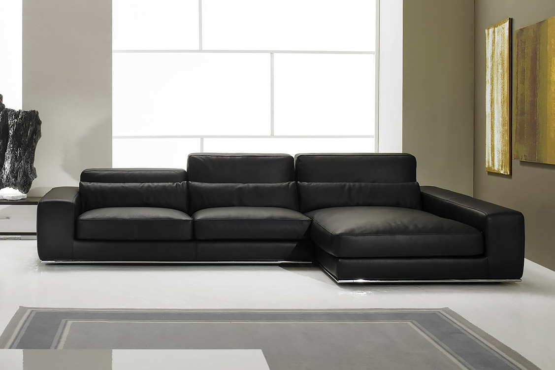 italienische ledersofa design aramis. Black Bedroom Furniture Sets. Home Design Ideas