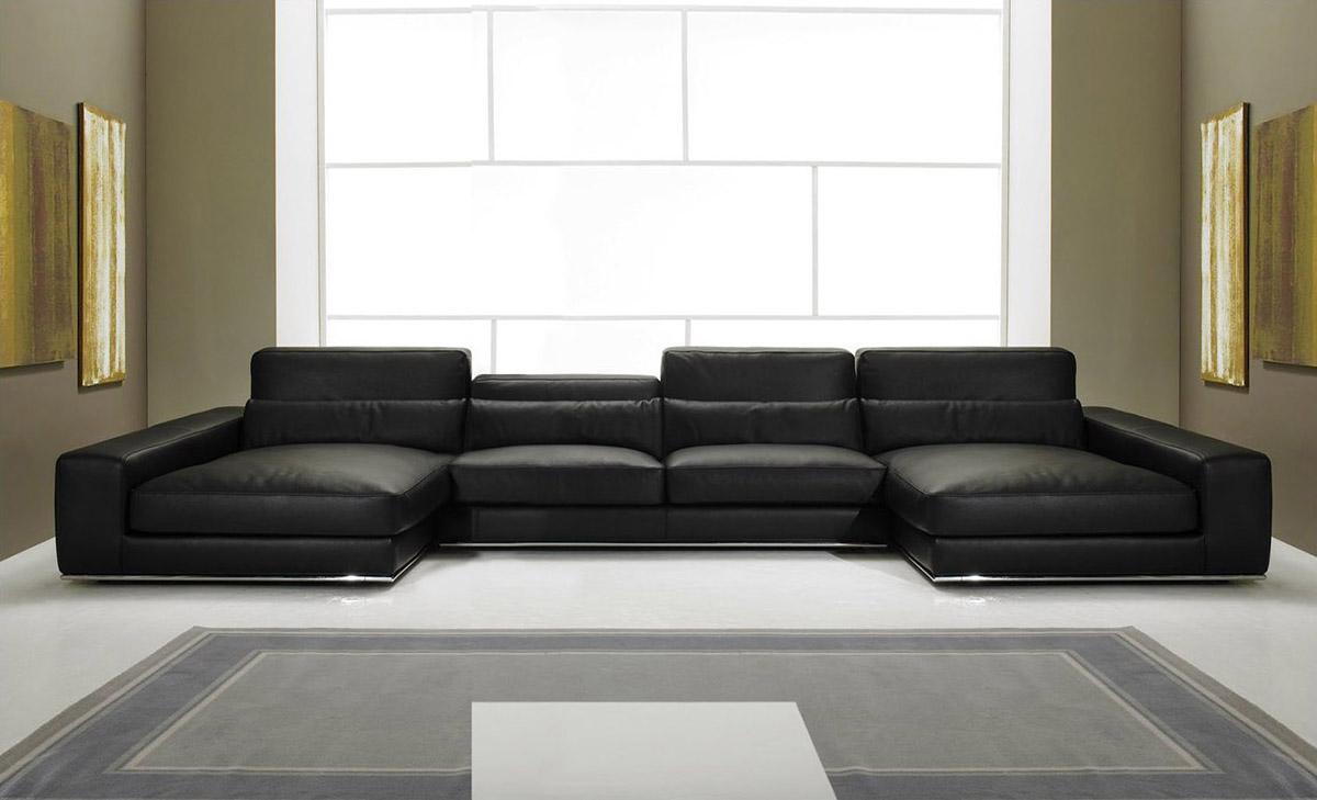 Italienische ledersofa design aramis for Italienische sofa