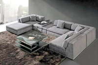 Ledersofa Design Atlantis