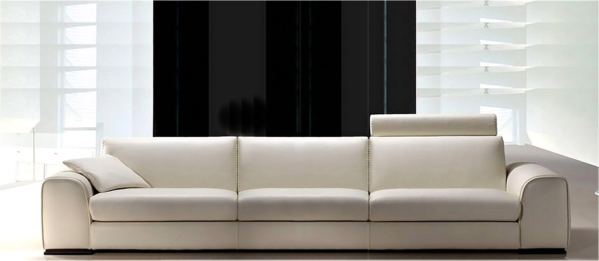 italienische sofa aus leder feeling. Black Bedroom Furniture Sets. Home Design Ideas