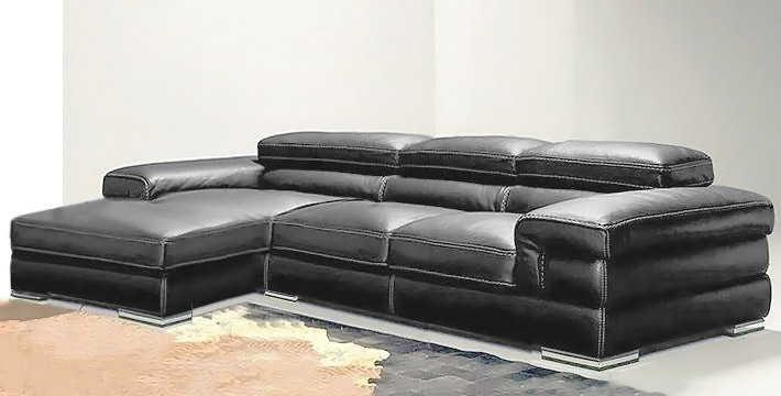italienische ledersofa design mobydik. Black Bedroom Furniture Sets. Home Design Ideas
